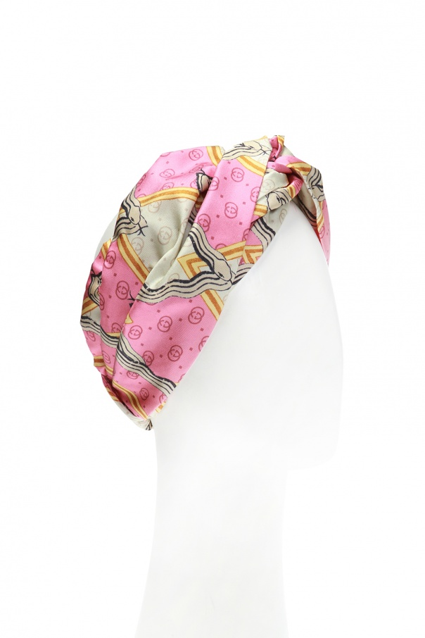 Patterned headband od Gucci