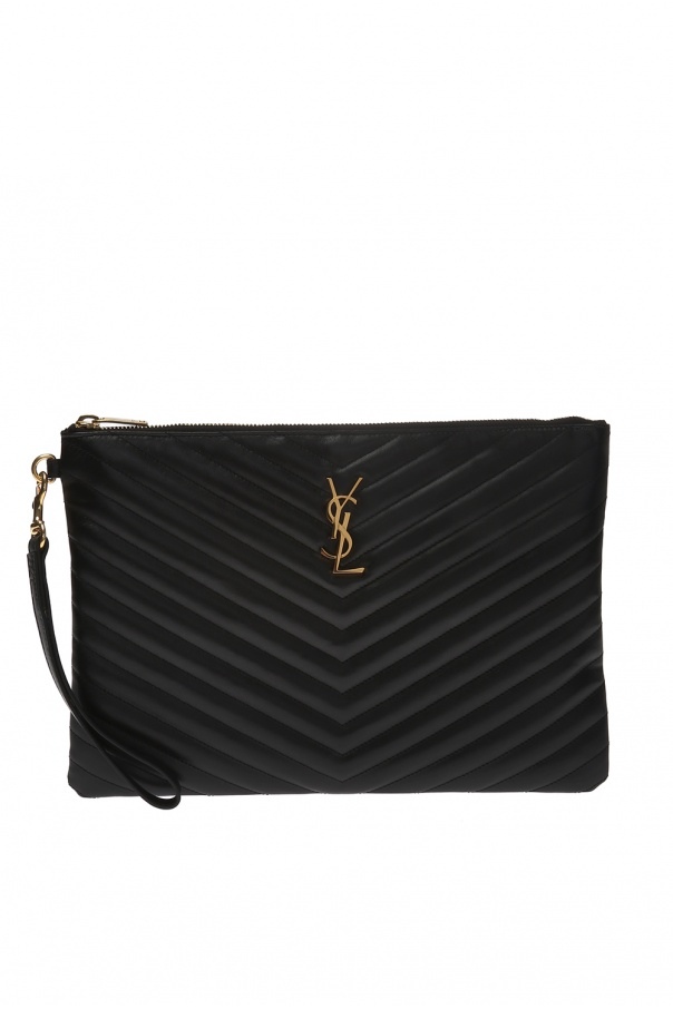 Saint Laurent Wrist strap clutch