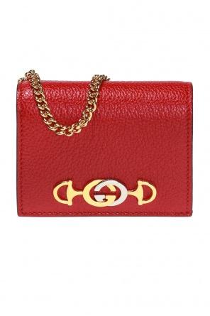 b046c0f5da176 ... Portfel na łańcuchu z logo  zumi  od Gucci