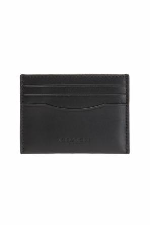 Logo-embossed card case od Coach