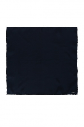 Logo-printed pocket square od Lanvin