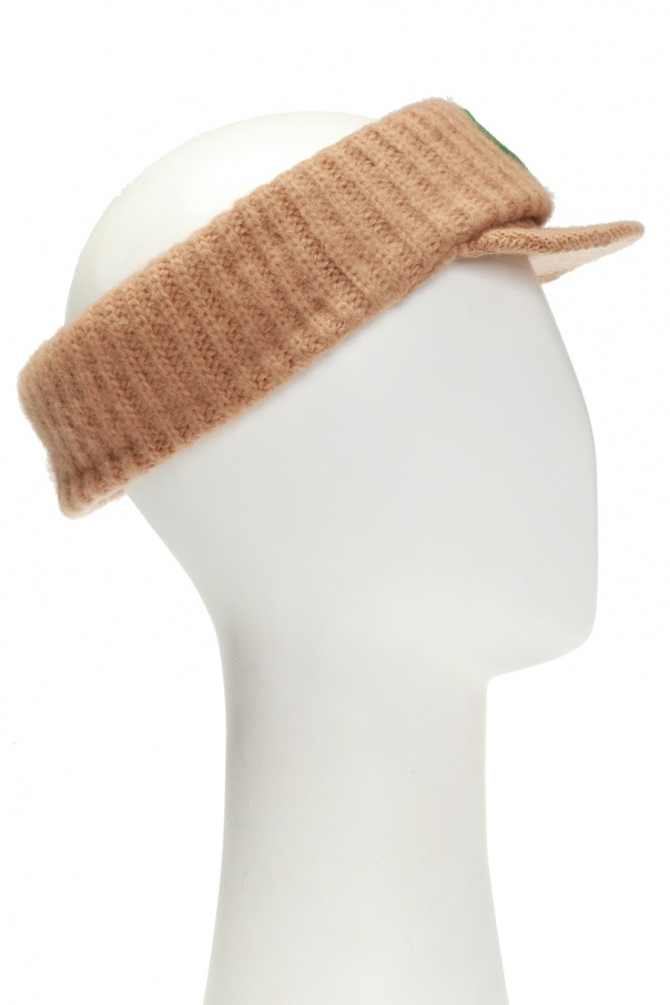 Wool visor with logo od Gucci Kids