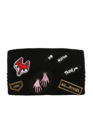 Patched head band od Sonia Rykiel