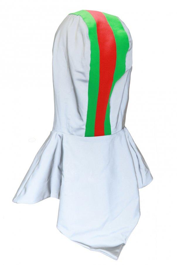 Hood with 'web' stripe od Gucci