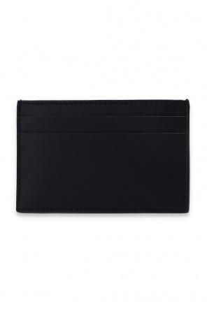 Leather card holder od Alexander McQueen