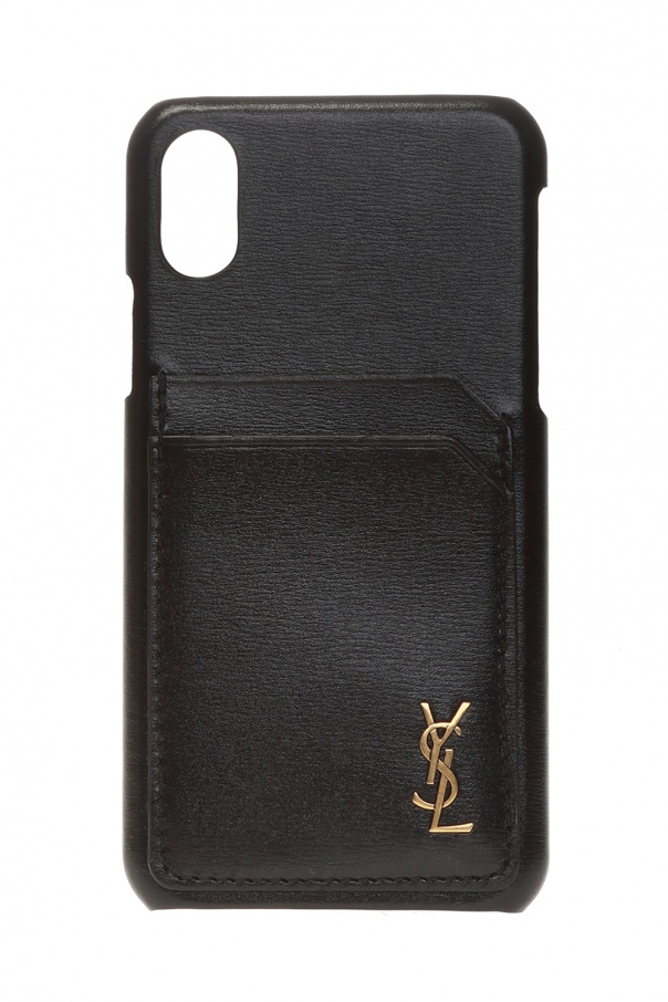 Saint Laurent iPhone XS case