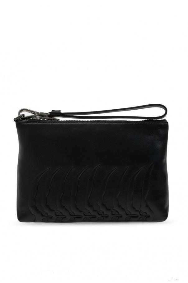 Alexander McQueen Embossed hand bag