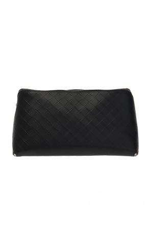 Leather wash bag od Bottega Veneta