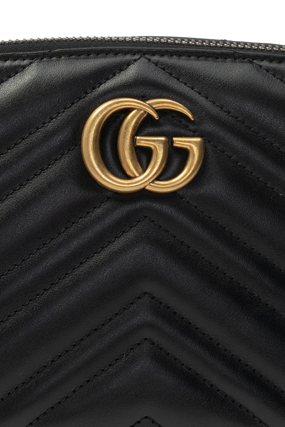 Gucci 'GG Marmont' Logo wash bag