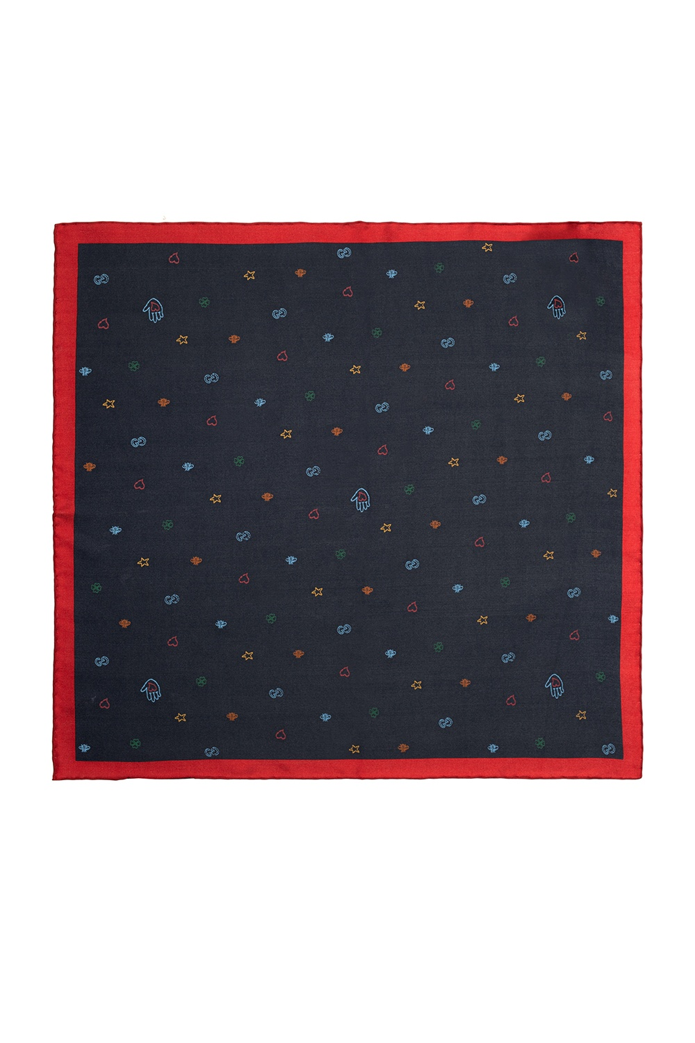 Gucci Patterned pocket square