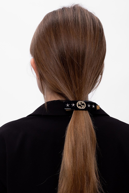 Gucci Spinka do włosów z logo