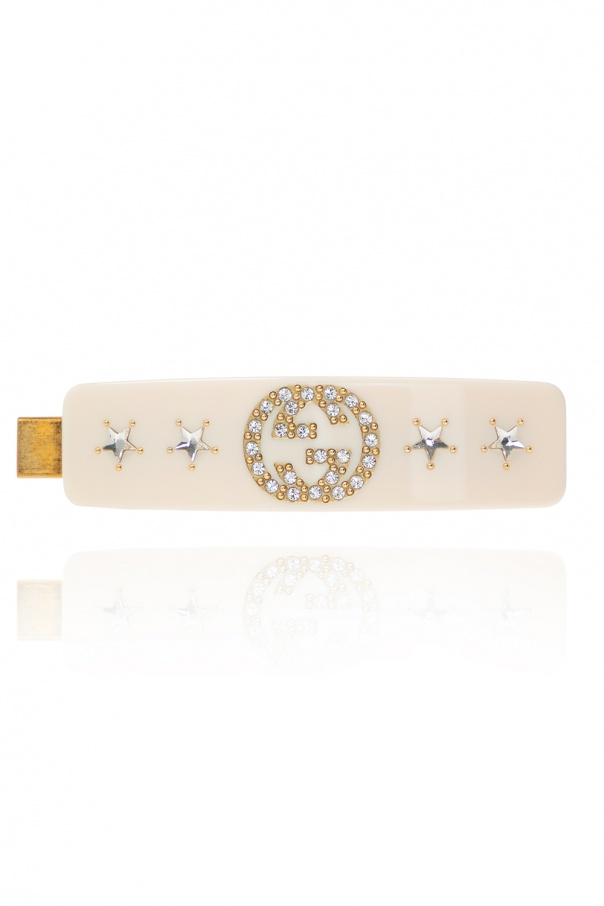 Gucci Interlocking G hair slide