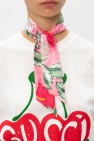 Gucci Flora print scarf