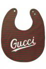 Gucci Kids Wzorzysty śliniak z logo