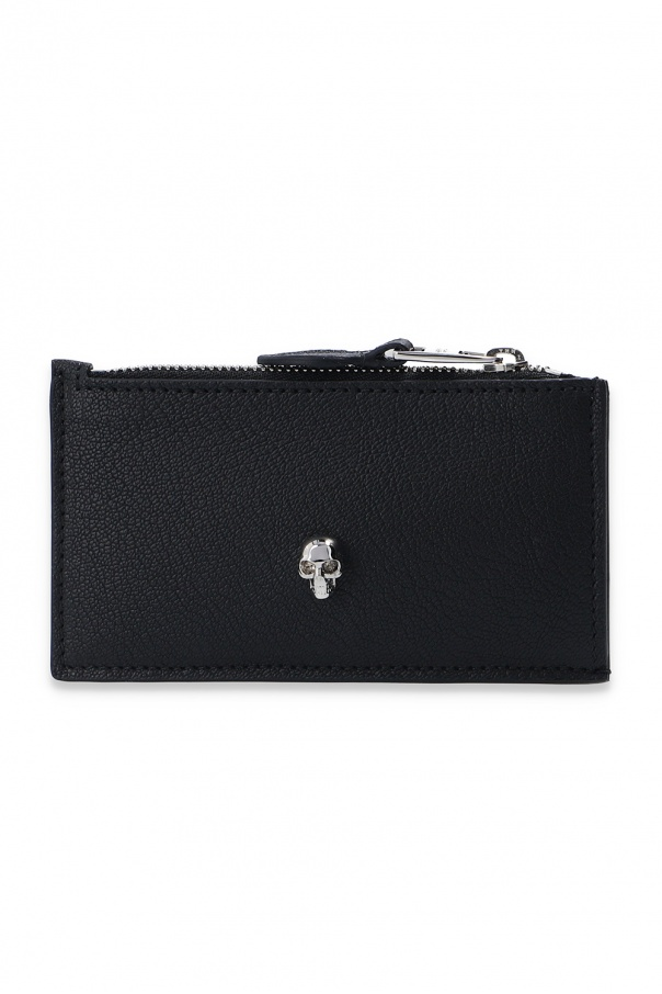 Alexander McQueen Card holder with skull motif