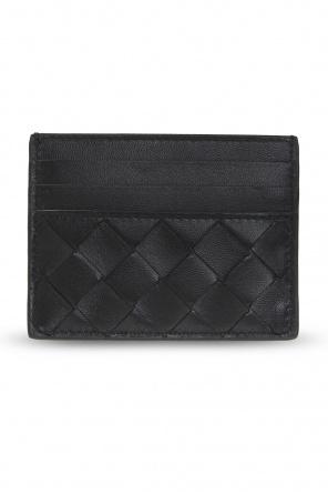 Card case with intrecciato weave od Bottega Veneta