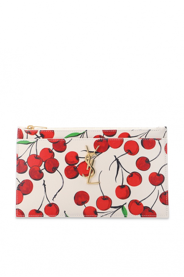 Saint Laurent Patterned pouch