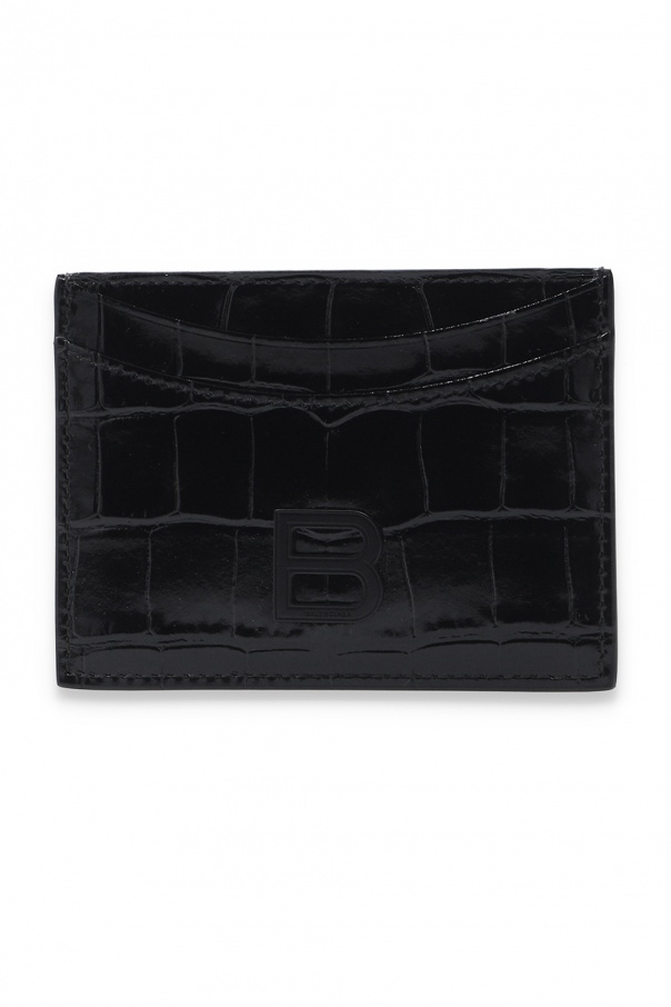 Balenciaga Card holder with logo