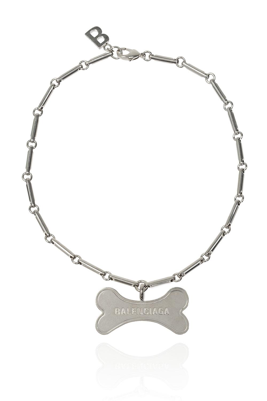 Balenciaga Necklace with logo