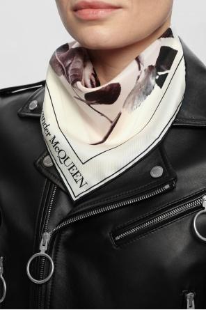 Patterned scarf od Alexander McQueen