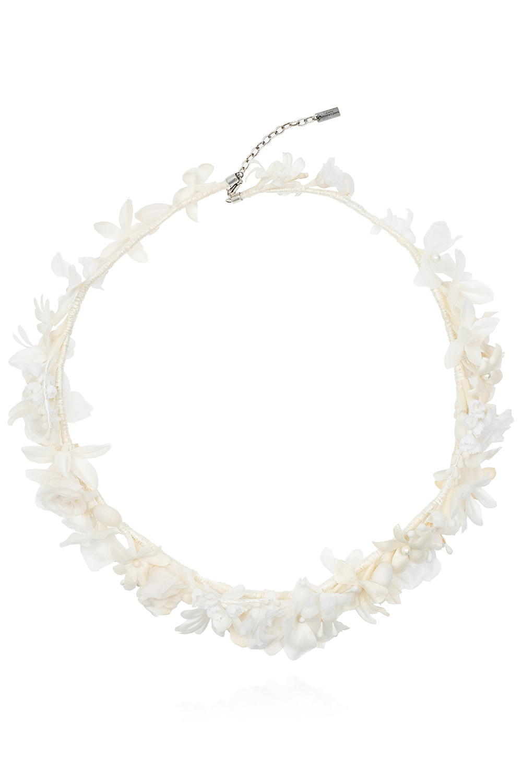 Saint Laurent Floral headband