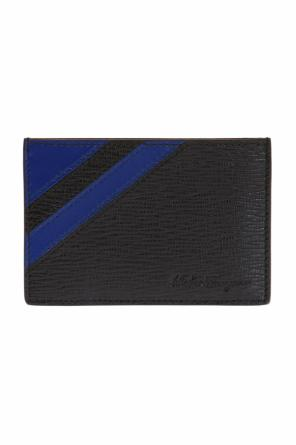Logo-embossed card case od Salvatore Ferragamo