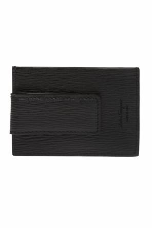 Branded gancini card case od Salvatore Ferragamo
