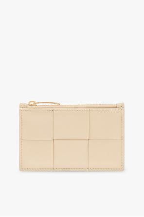 Card case with 'intrecciato' weave od Bottega Veneta