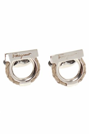 'gancini' cuff links od Salvatore Ferragamo