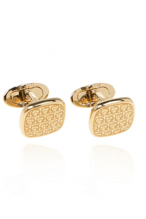 Salvatore Ferragamo Brass cufflinks