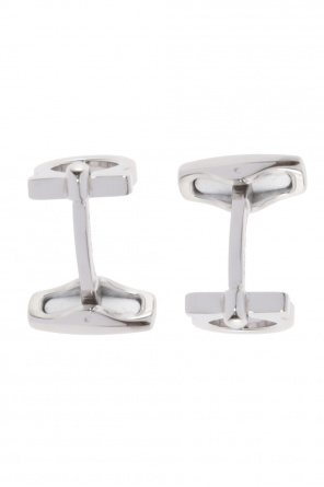 Cuff links with logo od Salvatore Ferragamo