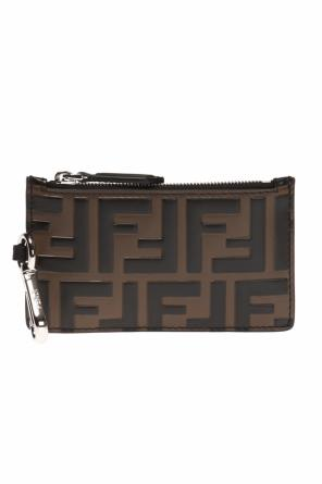 Patterned card case od Fendi