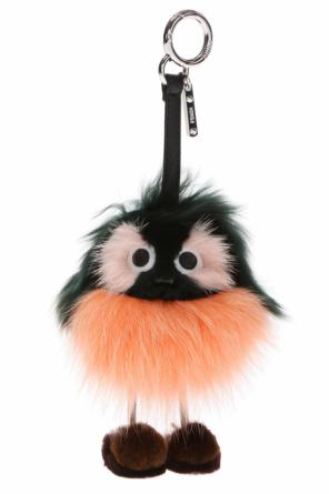 'da' fur key ring od Fendi
