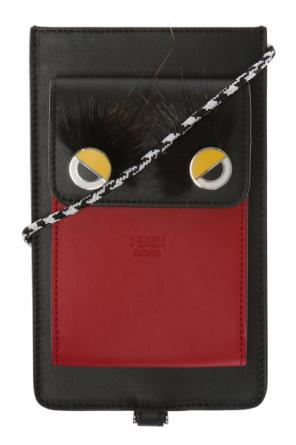 Eyes motif pouch od Fendi