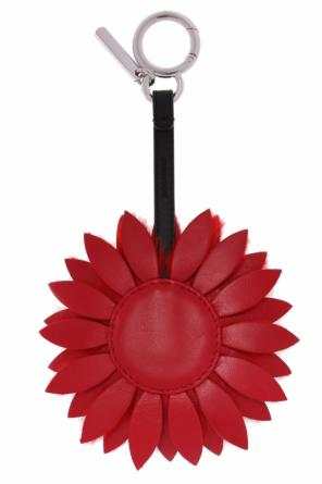 Flower-shaped key ring od Fendi