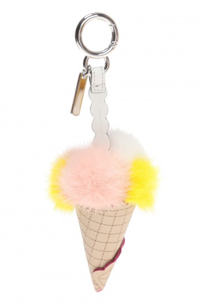 Ice-cream motif key ring od Fendi