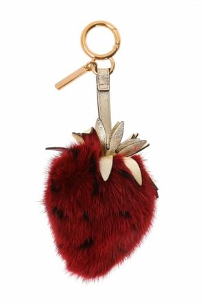 Strawberry keyring od Fendi