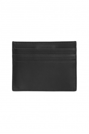 Logo-embossed card case od Fendi