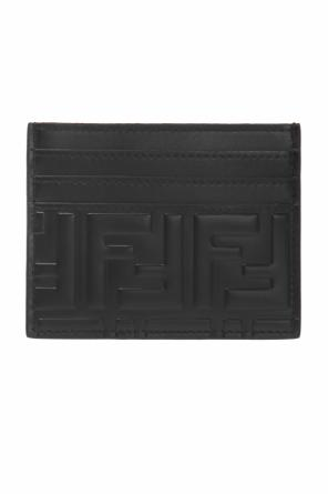 Card case with a pattern and logo od Fendi