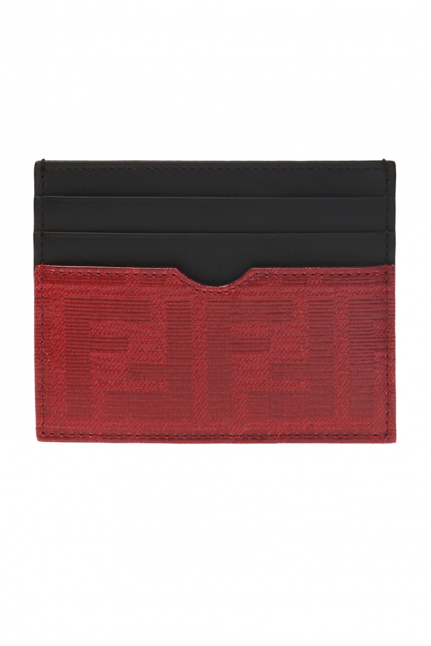 Branded card case od Fendi
