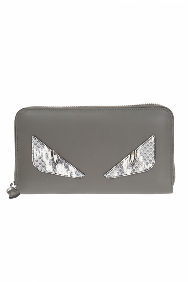 Fendi Signature adornment wallet