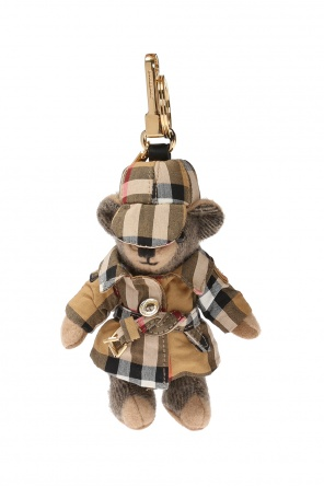 'thomas' teddy bear keyring od Burberry