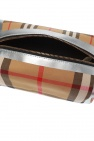 Burberry Checked wash bag