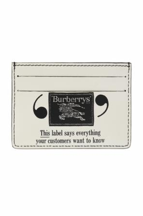 Printed card case od Burberry