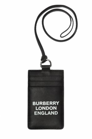 Logo-printed card case od Burberry