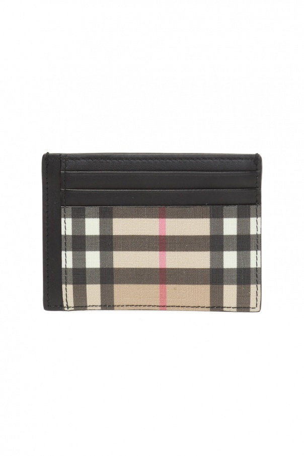 Burberry Card case with money clip