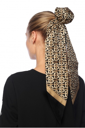 Silk hair scarf od Burberry