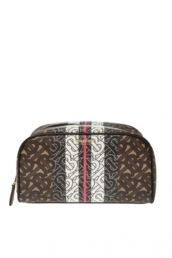 Burberry Patterned wash bag