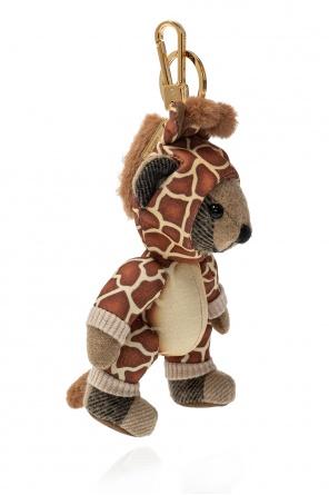 Teddy bear keyring od Burberry