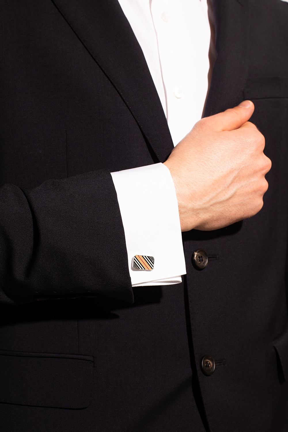 Burberry Cuff links with logo